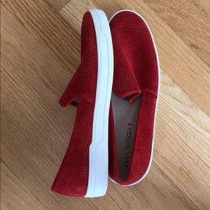 NEW red via spiga slides